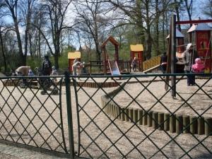 Plac zabaw w Parku Południowym 1
