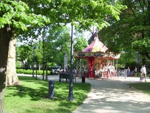 Karuzela w Parku Śródmiejskim 1